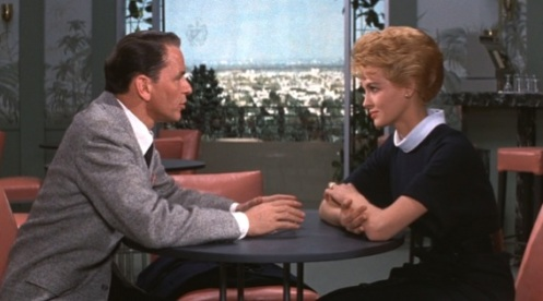 Ocean's Eleven--Frank Sinatra and Angie Dickinson