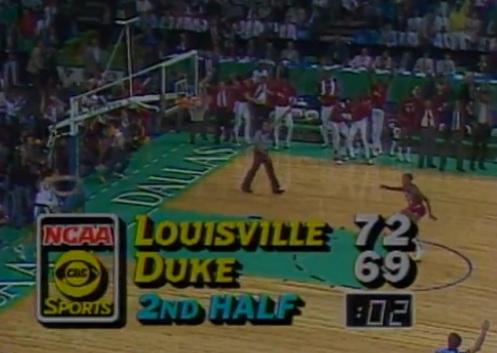 1986 Louisville vs Duke