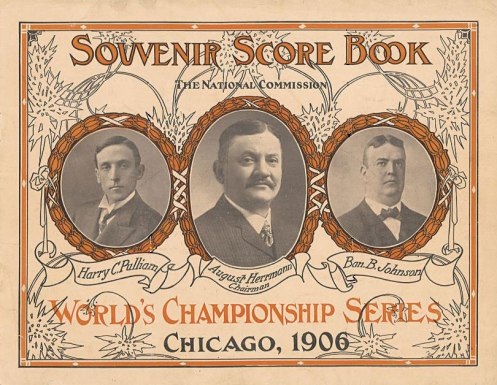 1906_World_Series_ProgramHD