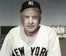 New York Yankees Manager Casey Stengel poses, March 1951. (AP photo)