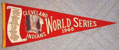 cleveland-indians-baseball-pennant