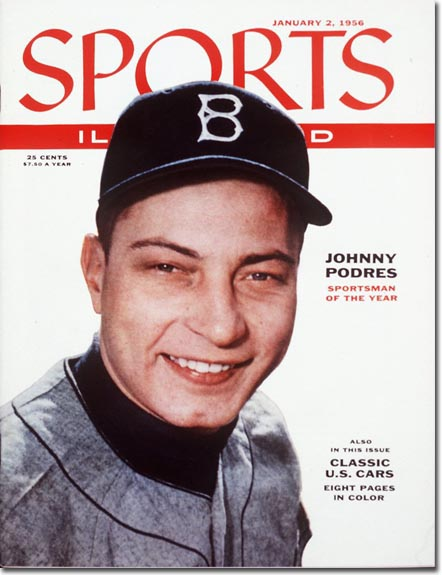 Johnny Podres - Sportsman of the Year January 2, 1956 X 3298 credit: Richard Meek - staff